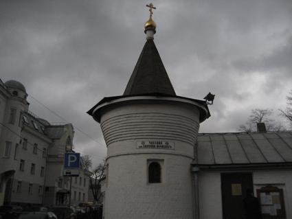 Часовня в честь прп. Силуана Афонского