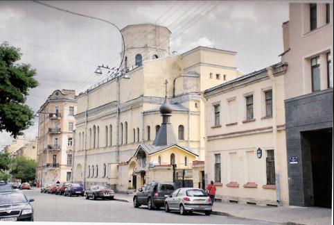 Часовня в честь св. ап. Андрея Первозванного.